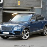"Bentley Bentayga ""Sequin Blue"""