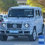 2018 Mercedes-Benz G-Class Spy Shots