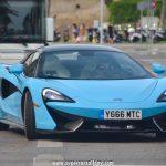 """McLaren 570S Spider """"Sky Blue"""""""