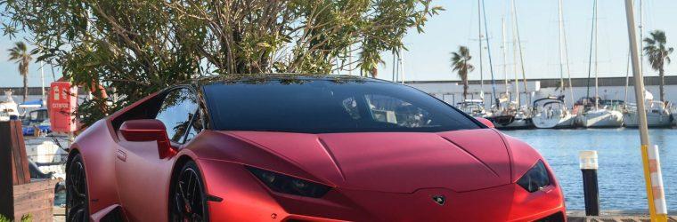 Lamborghini Huracán LP 610-4 red matte