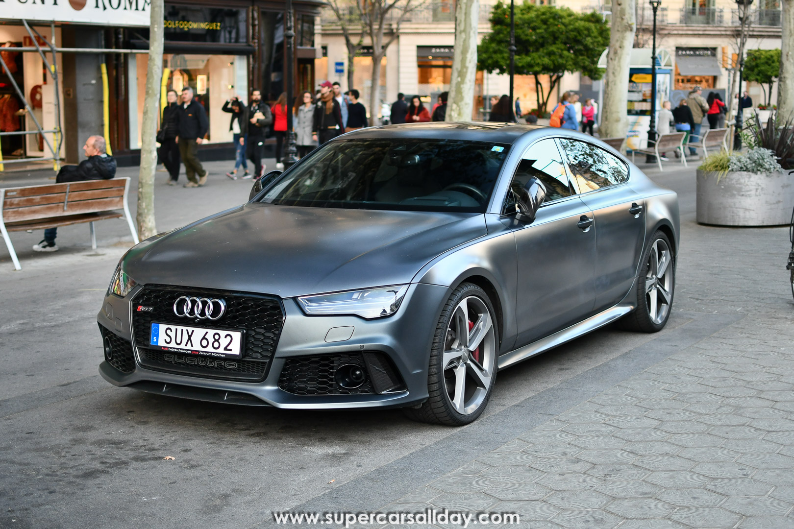Audi Rs7 Sportback 2015 Supercars All Day Exotic Cars Photo Car