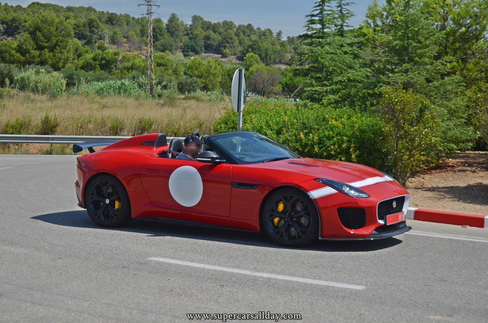 Jaguar F Type Project 7 In Red