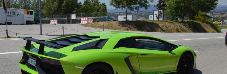 Lamborghini Aventador LP750-4 SV Verde Ithaca x2