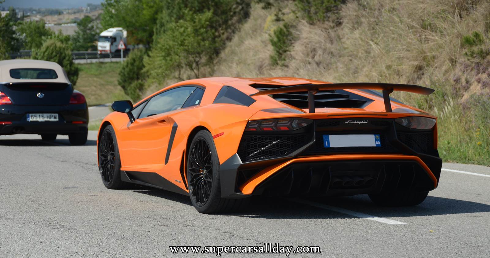 Lamborghini aventador sv colors