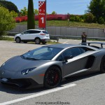 Lamborghini Aventador SV grigio titans