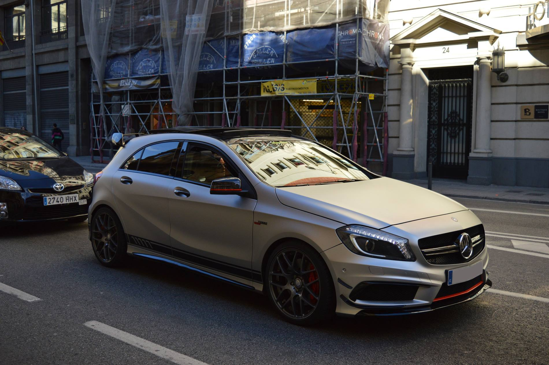 mercedes benz a 45 amg edition 1 supercars all day. Black Bedroom Furniture Sets. Home Design Ideas