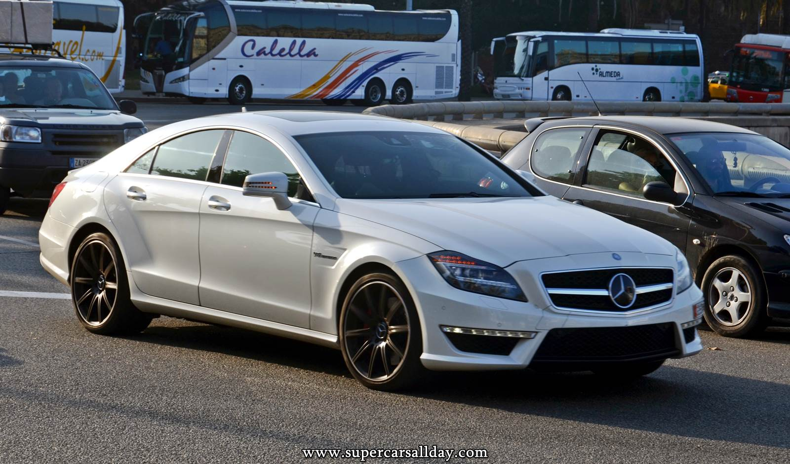 Mercedes Benz Cls 63 Amg S C218 Supercars All Day