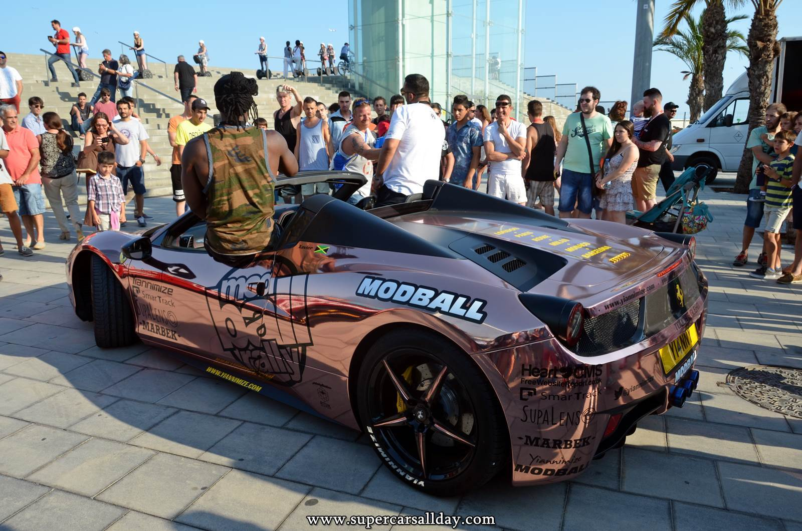 Modball Rally 2015 - Barcelona - Supercars All Day [Exotic