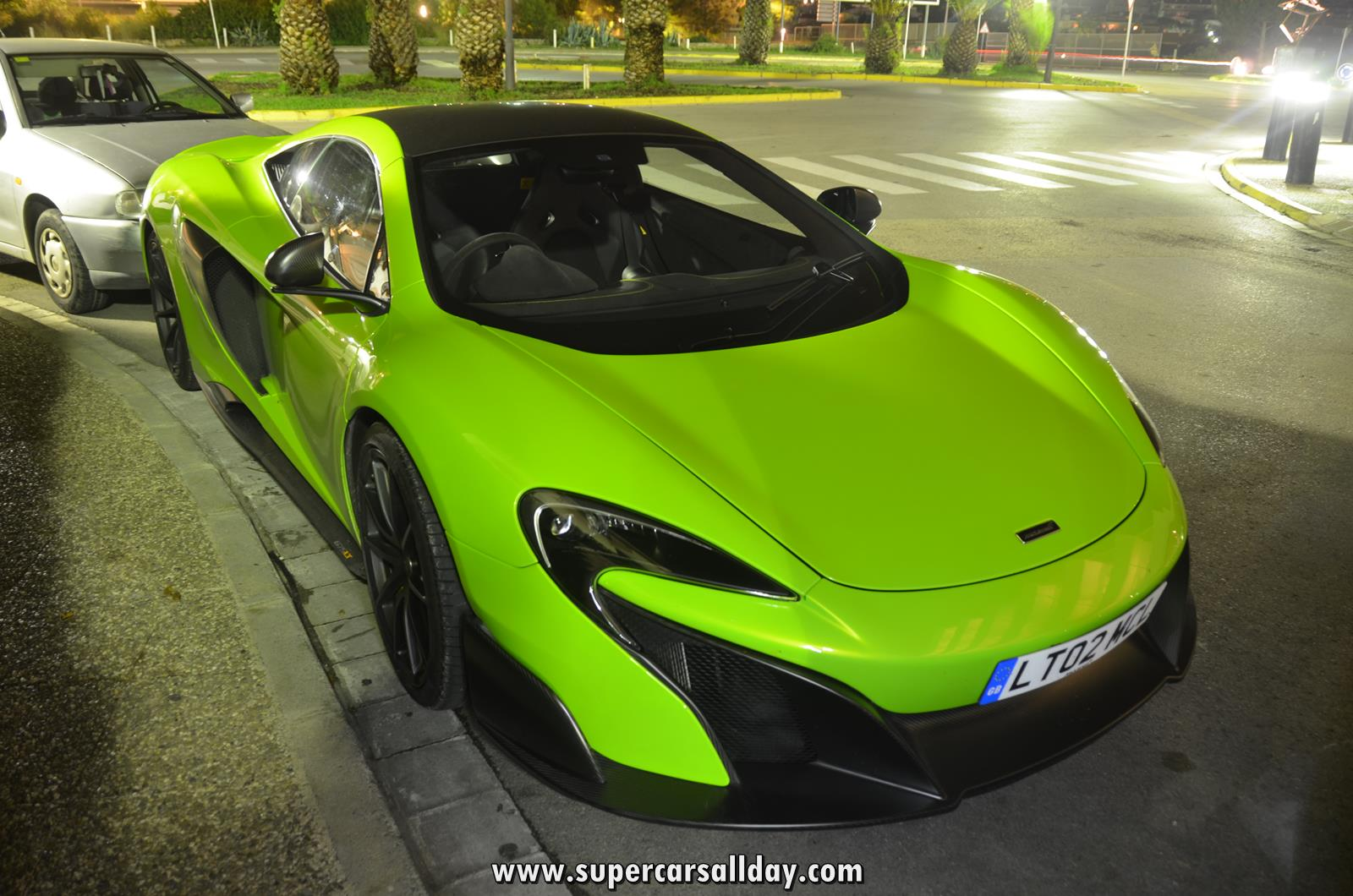 Mclaren 675lt Napier Green In Spain Supercars All Day