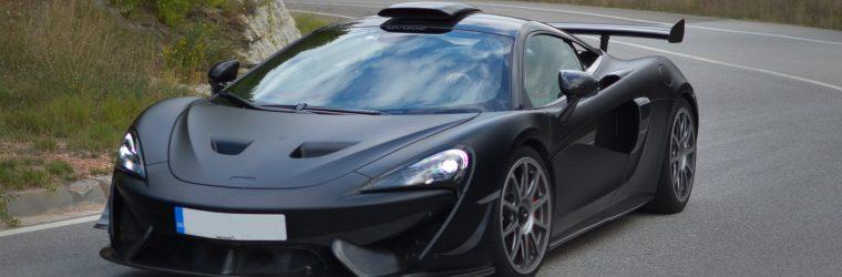 McLaren 620R Spy Shots