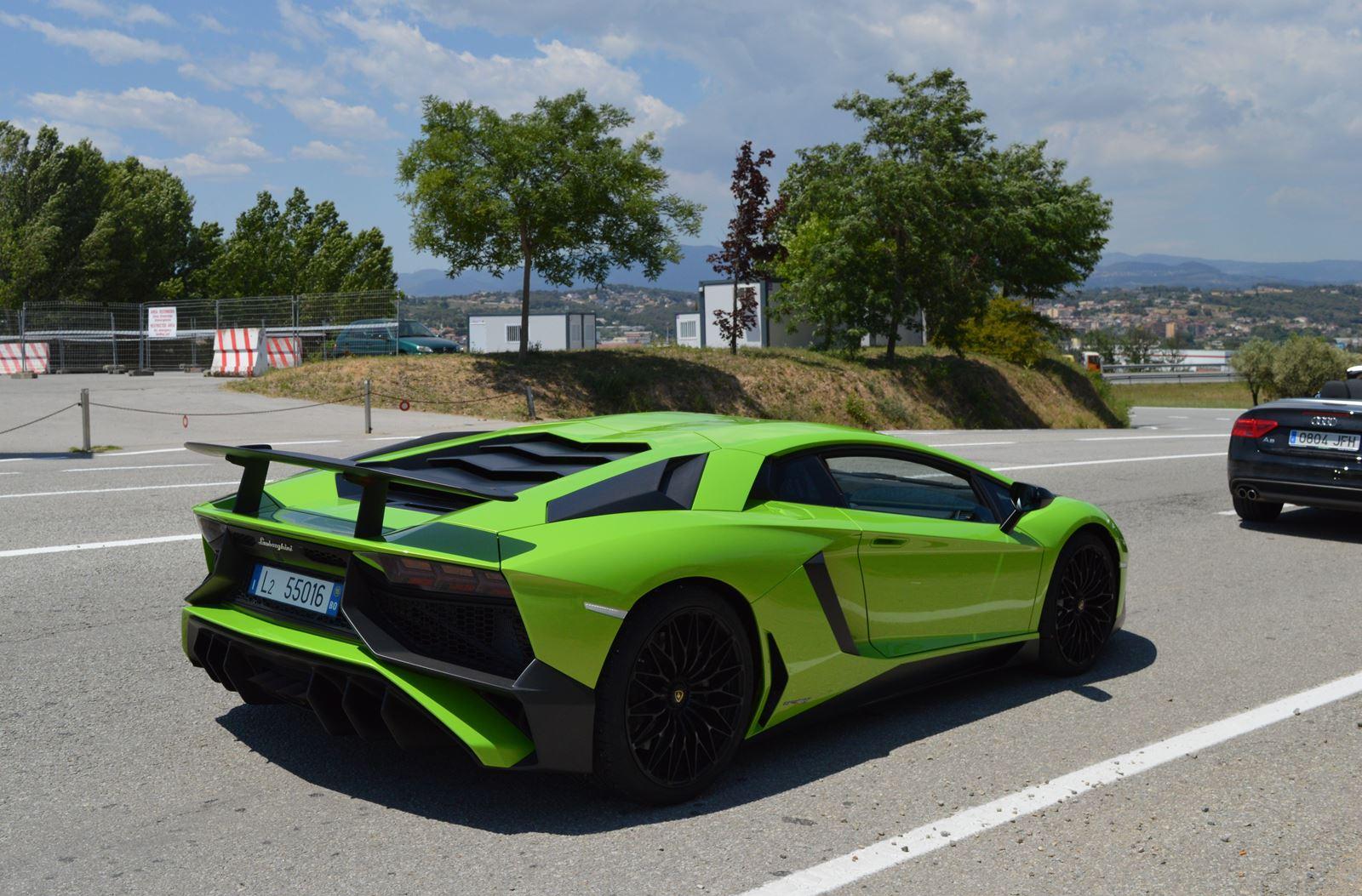 Lamborghini Aventador Sv Verde Ithaca X2
