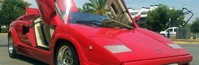 Lamborghini Countach 25th Anniversary 1